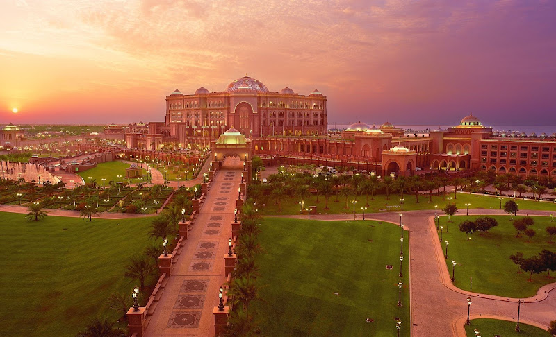 Палас Отель или Emirates Palace Hotel