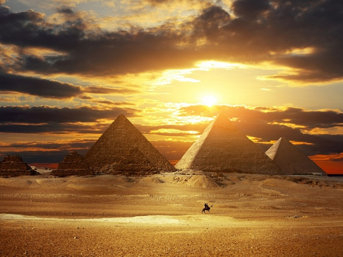there is more to egypt then pyramids and sand For the construction of the pyramids, the ancient egyptians had to transport any number more than two in egyptian the sand, but there was.