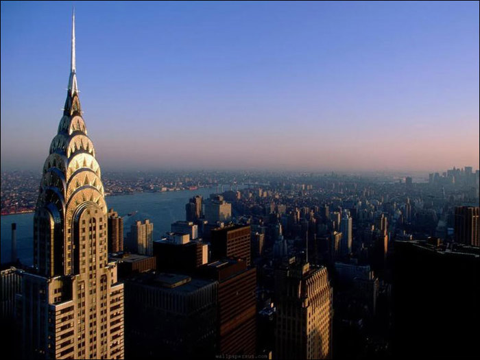 5-chrysler building skyline